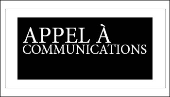 Appel à communications – 15e Colloque de la Relève VRM