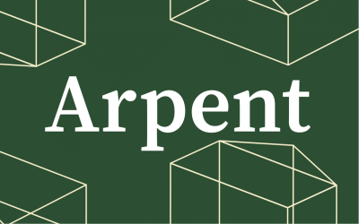 Nouvelle collaboration – Arpent