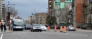 Rue Sherbrooke Est, Montréal.