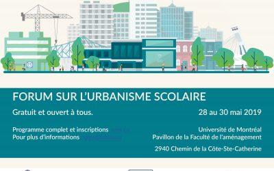 Forum sur l'urbanisme scolaire : pour découvrir des expériences innovantes et des bonnes pratiques
