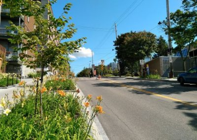 Exemple d'une revitalisation de rue à Québec