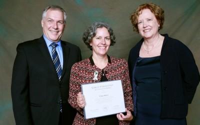Claire Poitras reçue au Cercle d'excellence de l'Université du Québec