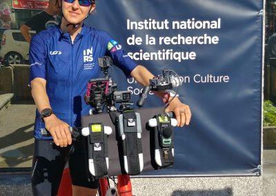 Instruments utilisés pour la collecte de données à vélo