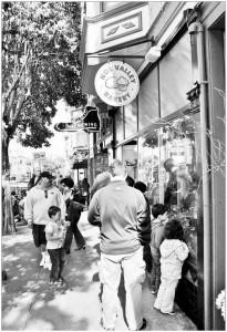 Une fin de semaine « familiale » sur la 24e rue dans Noe Valley (San Francisco) © Sonia Lehman-Frisch