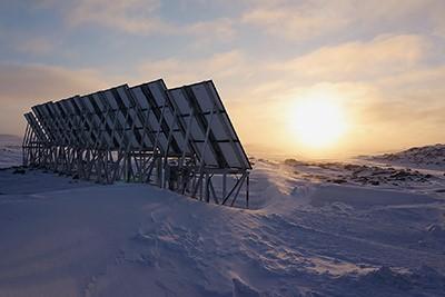 Le laboratoire photovoltaïque de Quaqtaq: une percée du solaire au Nunavik