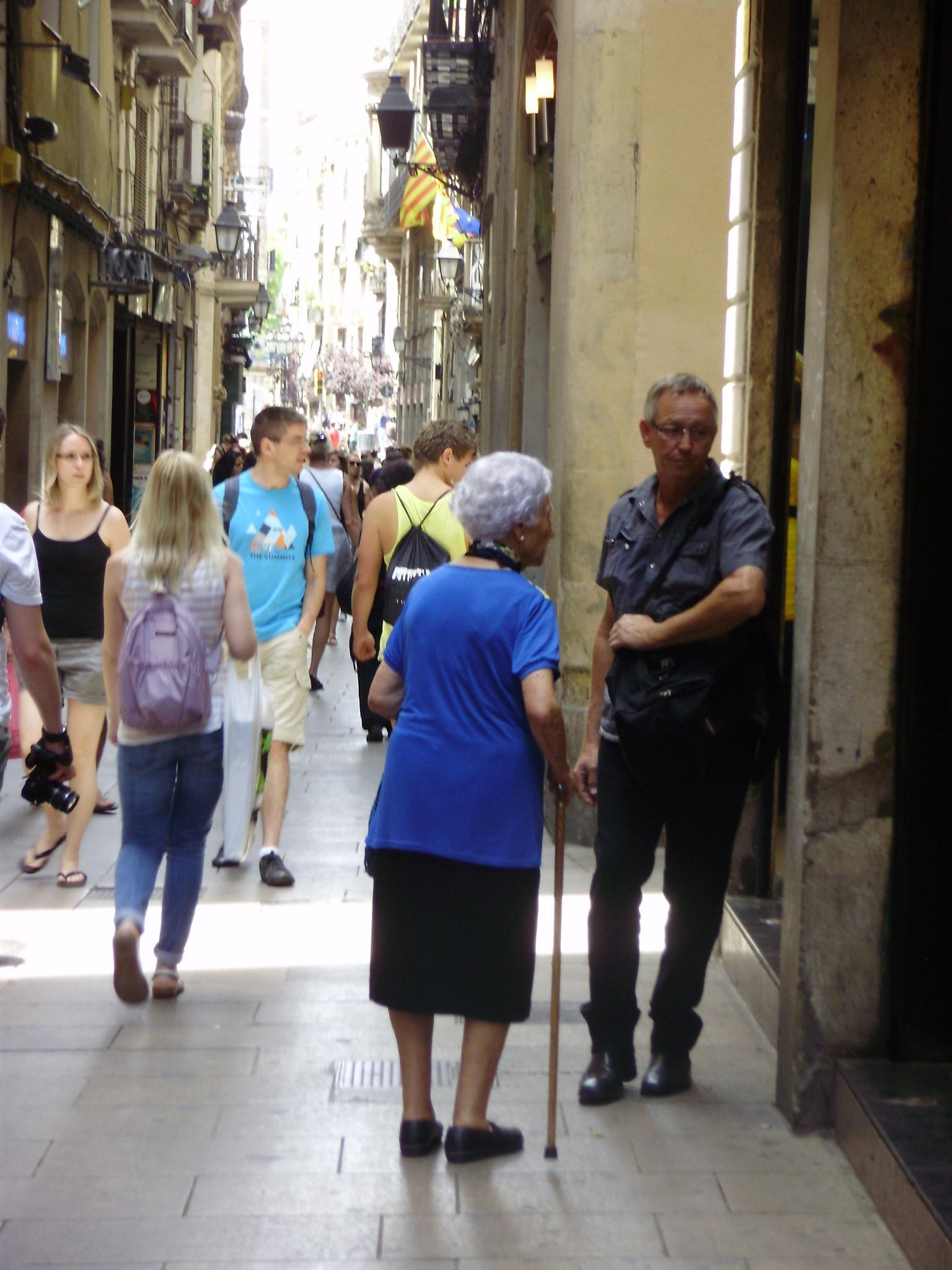 Personnes âgées ville