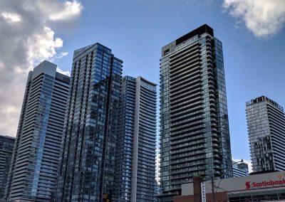 Immeubles du centre-ville de Montréal