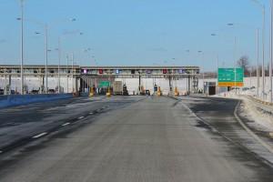 Autoroute 30, pont à péage. Eltiempo10, 2012 C.C.3.0