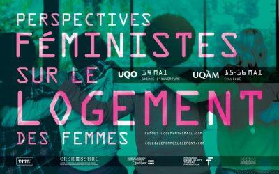 Colloque: Perspectives féministes sur le logement des femmes