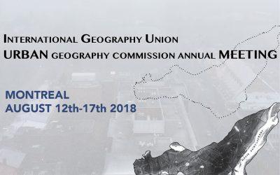 Protégé: IGU Urban Commission annual meeting – Montreal 2018