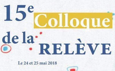 15e Colloque de la Relève VRM