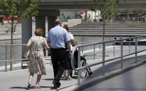 Personnes âgées, Lyon. Photo du domaine public CC0