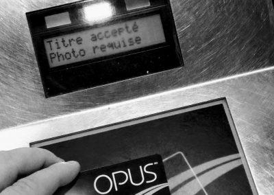 Carte OPUS - Société de transport de Montréal